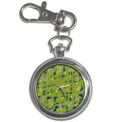 Green And Blue Key Chain Watches by Valentinaart