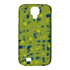 Green And Blue Samsung Galaxy S4 Classic Hardshell Case (pc+silicone) by Valentinaart