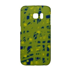 Green And Blue Galaxy S6 Edge by Valentinaart