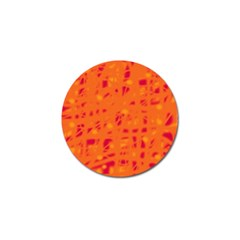Orange Golf Ball Marker (4 Pack) by Valentinaart