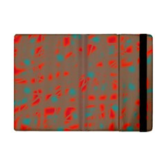 Red And Brown Apple Ipad Mini Flip Case by Valentinaart
