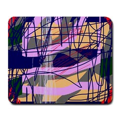 Abstract High Art By Moma Large Mousepads by Valentinaart