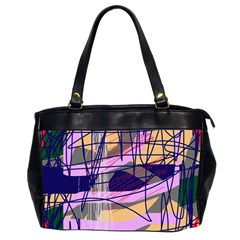 Abstract High Art By Moma Office Handbags (2 Sides)  by Valentinaart