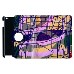 Abstract High Art By Moma Apple Ipad 2 Flip 360 Case by Valentinaart