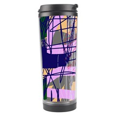 Abstract High Art By Moma Travel Tumbler by Valentinaart