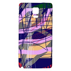 Abstract High Art By Moma Galaxy Note 4 Back Case by Valentinaart