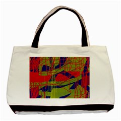 High Art By Moma Basic Tote Bag (two Sides) by Valentinaart