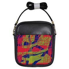 High Art By Moma Girls Sling Bags by Valentinaart