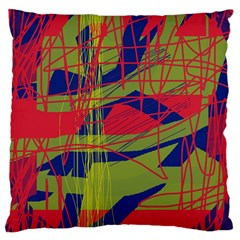 High Art By Moma Large Cushion Case (two Sides)