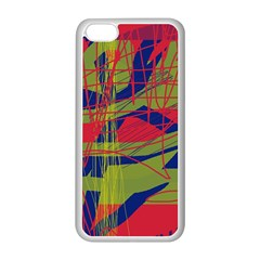 High Art By Moma Apple Iphone 5c Seamless Case (white) by Valentinaart