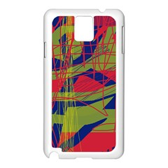 High Art By Moma Samsung Galaxy Note 3 N9005 Case (white) by Valentinaart