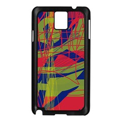 High Art By Moma Samsung Galaxy Note 3 N9005 Case (black) by Valentinaart