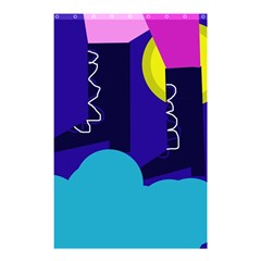 Walking On The Clouds  Shower Curtain 48  X 72  (small)  by Valentinaart