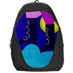 Walking On The Clouds  Backpack Bag by Valentinaart