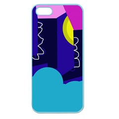Walking On The Clouds  Apple Seamless Iphone 5 Case (color) by Valentinaart