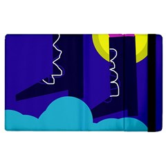 Walking On The Clouds  Apple Ipad 3/4 Flip Case by Valentinaart
