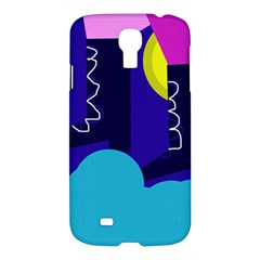 Walking On The Clouds  Samsung Galaxy S4 I9500/i9505 Hardshell Case by Valentinaart