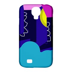 Walking On The Clouds  Samsung Galaxy S4 Classic Hardshell Case (pc+silicone)