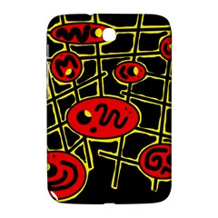 Red And Yellow Hot Design Samsung Galaxy Note 8 0 N5100 Hardshell Case  by Valentinaart