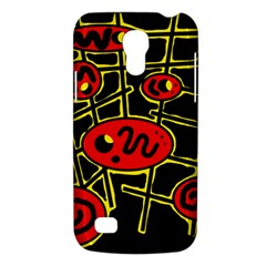 Red And Yellow Hot Design Galaxy S4 Mini by Valentinaart