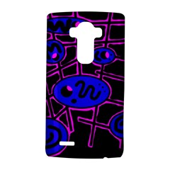 Blue And Magenta Abstraction Lg G4 Hardshell Case by Valentinaart