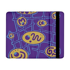 Purple And Yellow Abstraction Samsung Galaxy Tab Pro 8 4  Flip Case