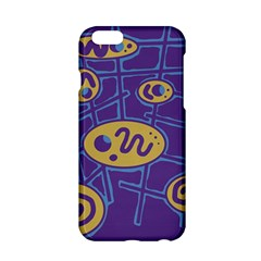 Purple And Yellow Abstraction Apple Iphone 6/6s Hardshell Case