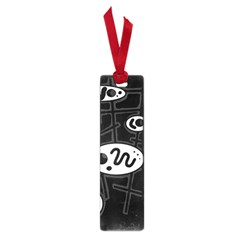 Black And White Crazy Abstraction  Small Book Marks by Valentinaart