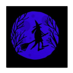 Halloween Witch   Blue Moon Tile Coasters by Valentinaart