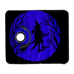 Halloween Witch   Blue Moon Samsung Galaxy S  Iii Flip 360 Case by Valentinaart