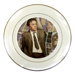 richard Burton  Porcelain Display Plate by clipsocallipso