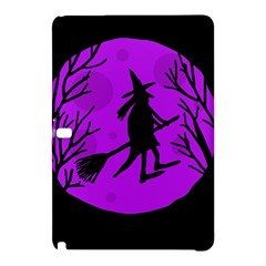 Halloween Witch   Purple Moon Samsung Galaxy Tab Pro 10 1 Hardshell Case by Valentinaart