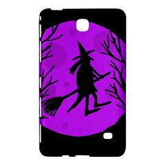 Halloween Witch   Purple Moon Samsung Galaxy Tab 4 (7 ) Hardshell Case  by Valentinaart