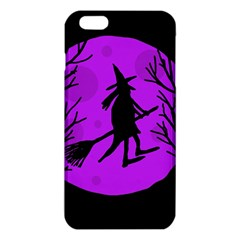 Halloween Witch   Purple Moon Iphone 6 Plus/6s Plus Tpu Case by Valentinaart