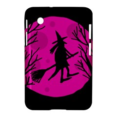Halloween Witch   Pink Moon Samsung Galaxy Tab 2 (7 ) P3100 Hardshell Case