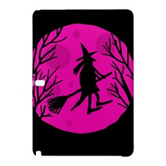 Halloween Witch   Pink Moon Samsung Galaxy Tab Pro 10 1 Hardshell Case