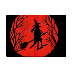 Halloween Witch   Red Moon Ipad Mini 2 Flip Cases by Valentinaart