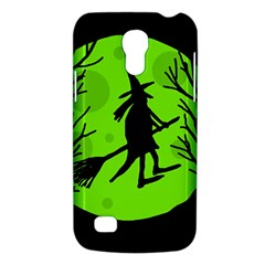 Halloween Witch   Green Moon Galaxy S4 Mini by Valentinaart