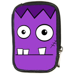 Halloween Frankenstein   Purple Compact Camera Cases by Valentinaart