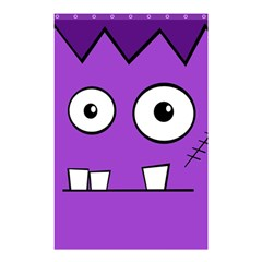 Halloween Frankenstein   Purple Shower Curtain 48  X 72  (small)  by Valentinaart