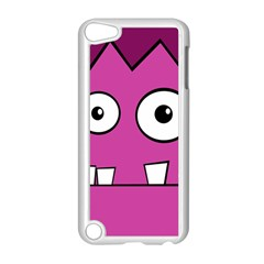 Halloween Frankenstein   Pink Apple Ipod Touch 5 Case (white) by Valentinaart