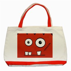 Halloween Frankenstein   Red Classic Tote Bag (red) by Valentinaart