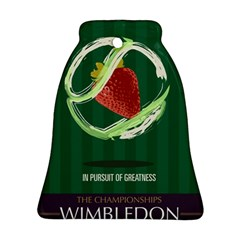 Wimbledon 2016  Bell Ornament (2 Sides) by AnshK
