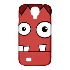 Halloween Frankenstein   Red Samsung Galaxy S4 Classic Hardshell Case (pc+silicone)