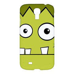 Halloween Frankenstein  Yellow Samsung Galaxy S4 I9500/i9505 Hardshell Case by Valentinaart