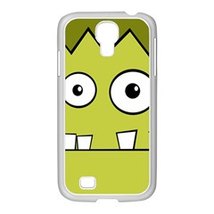 Halloween Frankenstein  Yellow Samsung Galaxy S4 I9500/ I9505 Case (white)