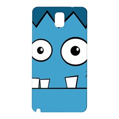Halloween Frankenstein   Blue Samsung Galaxy Note 3 N9005 Hardshell Back Case