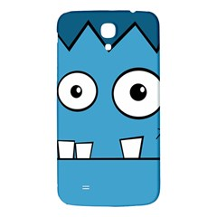Halloween Frankenstein   Blue Samsung Galaxy Mega I9200 Hardshell Back Case by Valentinaart