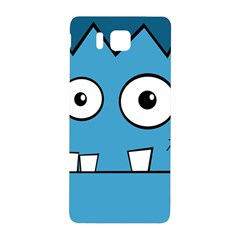 Halloween Frankenstein   Blue Samsung Galaxy Alpha Hardshell Back Case