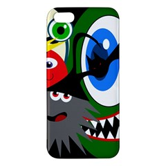 Halloween Monsters Apple Iphone 5 Premium Hardshell Case by Valentinaart